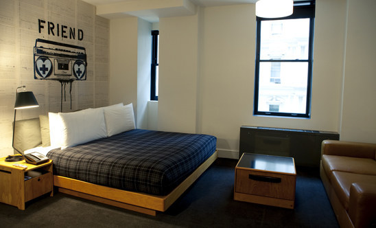 New york city s newest trendy hotel ace hotel for Ace hotel decor